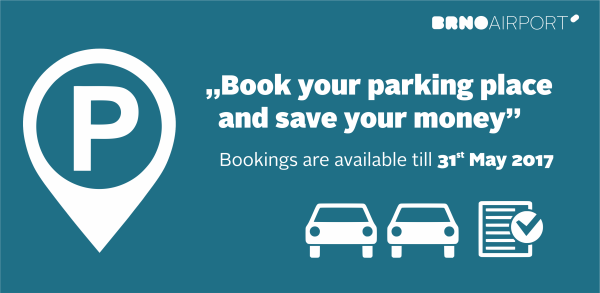 Book your parking place and save your money